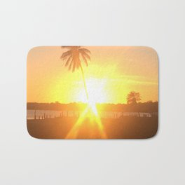 Sunset Burst Bath Mat