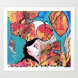A Whole World Art Print
