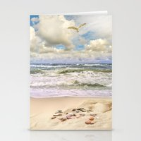 paradise Stationery Cards featuring Paradise by RasaOm