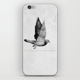 Voyager: Your Wings Have Seen Everything iPhone Skin
