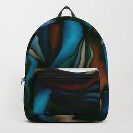 blue smudge Backpack