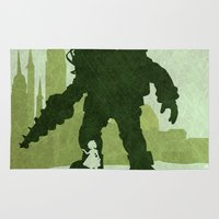 bioshock Area & Throw Rugs featuring Vector Bioshock by LoweakGraph