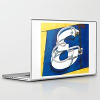 ampersand Laptop & iPad Skins featuring Ampersand by Anthony Billings
