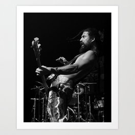 Bret Bollinger of Pepper Art Print