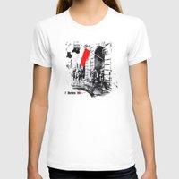 poland T-shirts featuring Warsaw Uprising, Poland - 1944 by viva la revolucion