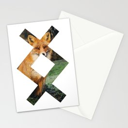 viking symbol 7 Stationery Cards