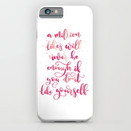 A Million Likes | Living Coral Palette iPhone Case