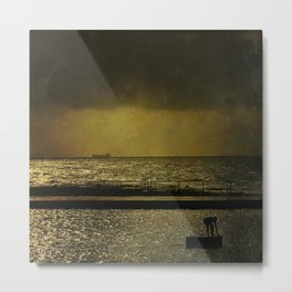 Rescue Me from Dirty Coal Metal Print