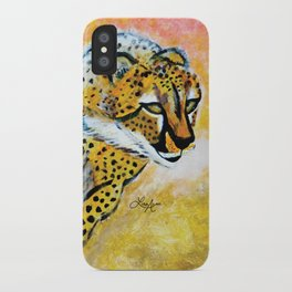 Catch Me If You Can (Cheetah) iPhone Case