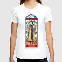 castiel T-shirts featuring Castiel by Grace Mutton