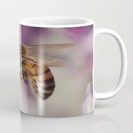 Worker Bee on Mexican Sage Coffee Mug