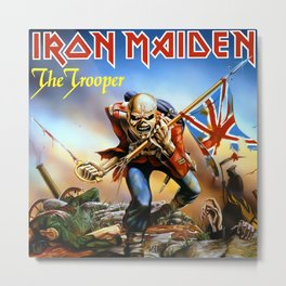 IRON MAIDEN - THE TROOPER Metal Print