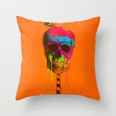 Skull Candy Throw Pillow