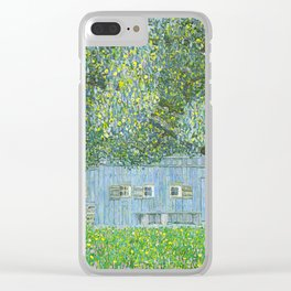 Klimt - Farmhouse in Upper Austria (new editing) Clear iPhone Case