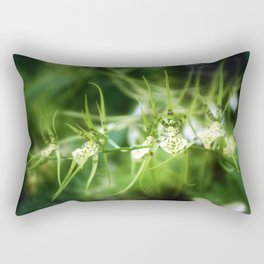 Tiger Orchid Rectangular Pillow
