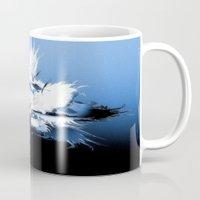 angel wings Mugs featuring Angel Wings by Brian Raggatt