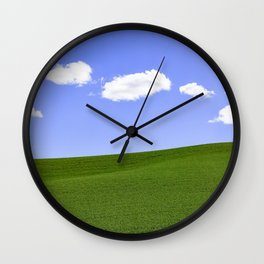 5 Clouds Wall Clock