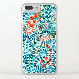 The Jungle Under the Sea Clear iPhone Case