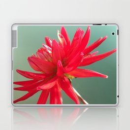 Red Imperfect Flower Laptop & iPad Skin