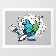 Final Sweep  Art Print