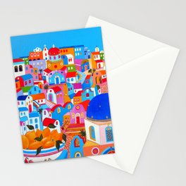 SANTORINI LEMONS Stationery Cards