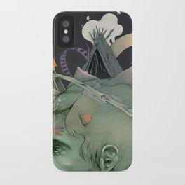 The traveler dreams iPhone Case