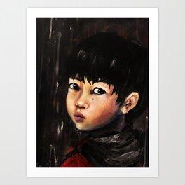 Toshio Art Print