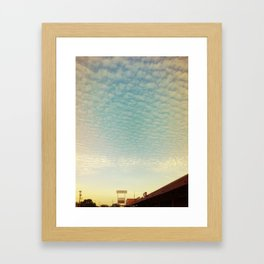 TX Framed Art Print