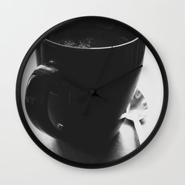 Hot Tea Morning Wall Clock