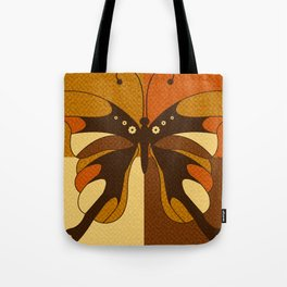 RETRO BUTTERFLY Tote Bag