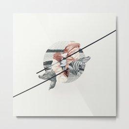 Cocodrile Metal Print