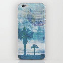Pacific Paradise Island Blue Moon iPhone Skin
