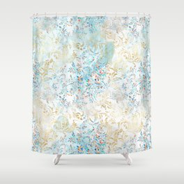 Feather peacock #15 Shower Curtain