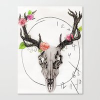 hannibal Canvas Prints featuring Hannibal by Ashley Glass