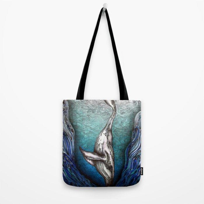 Into the Darkest Depths Tote Bag