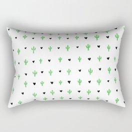 I Heart Cactus Rectangular Pillow