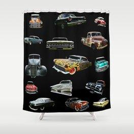 Hot Rod Heaven Shower Curtain