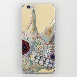 Day of the Dead Rhino iPhone Skin