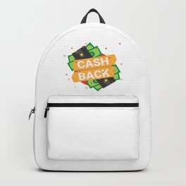 Cash Back Backpack