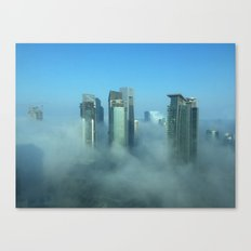 Misty Doha Morning Canvas Print