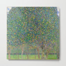 "Gustav Klimt ""Pear tree"" Metal Print"