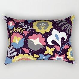 Flowers motives Rectangular Pillow