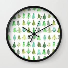 Tree Farm Wall Clock