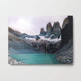 [№5] Pastel Patagonia Metal Print