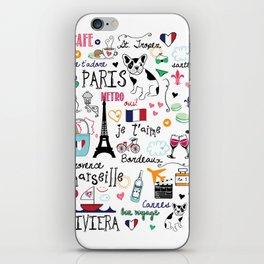 J'Adore France iPhone Skin