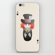 Kokeshi Mad Hatter iPhone & iPod Skin