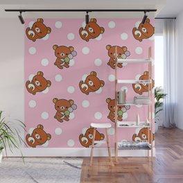 Cute Bear Wall Mural