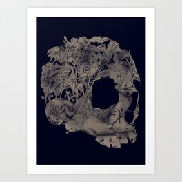 Natureza morta Art Print
