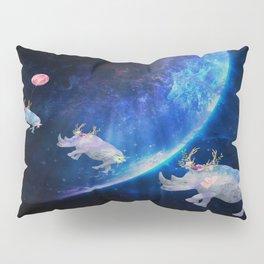 Rhinos Journey Reaching For The Stars Pillow Sham