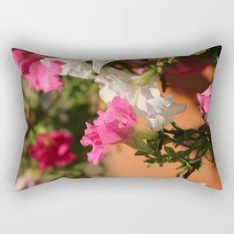 Glorious Abstract Floral  Rectangular Pillow